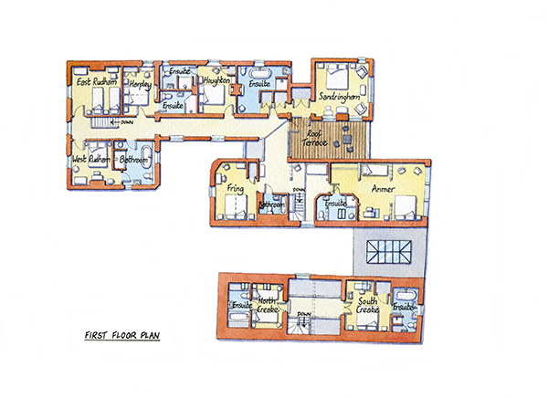 Caradon - First Floor Plan600